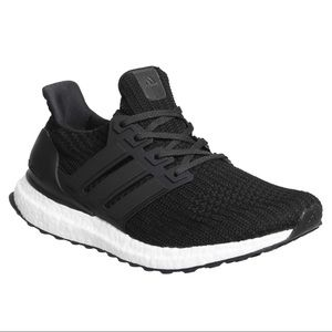 Adidas Ultra Boost 4.0 Core Black Running Shoes